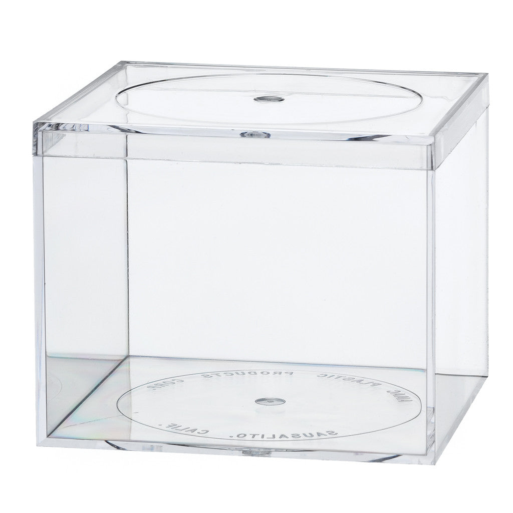 773C Flat Top Box, Crystal