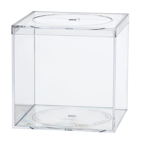 774C Flat Top Box, Crystal