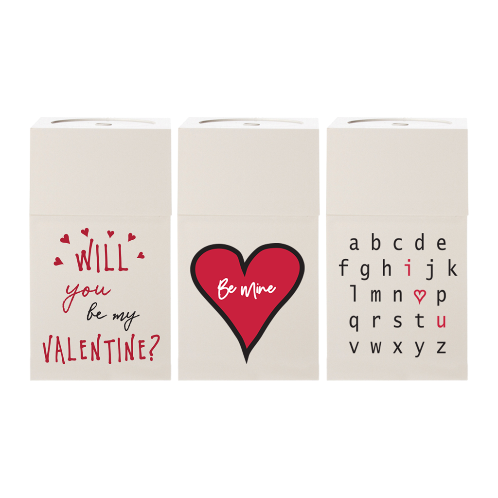 Valentines White Gift Boxes