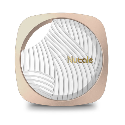 New Nutale Focus Smart tracker, item finders with enhanced 3rd Gen Technologies White/Gold