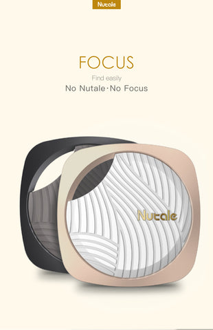New Nutale Focus Smart tracker, item finders with enhanced 3rd Gen Technologies White/Gold - NutFind