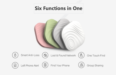 All New Nut Find3 Smart Tracker - never lose anything, 4-pack, white, green, orange, grey