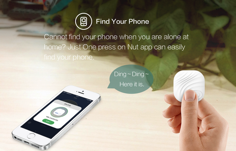 All New Nut Find3 Smart Tracker - never lose anything, 2-pack, white and Green - NutFind
