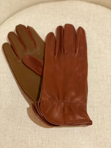 Men's Cognac Roper (Touchscreen Leather!)