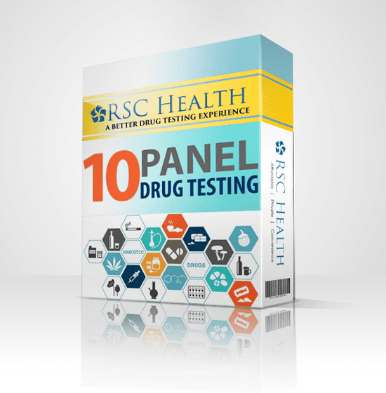 Rapid 10 Panel Drug Test