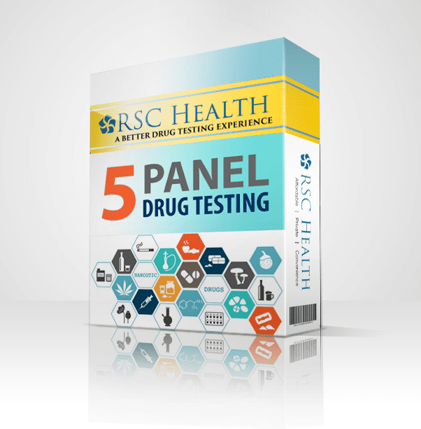 Rapid 5 Panel Drug Test (urine) Results In One Day!