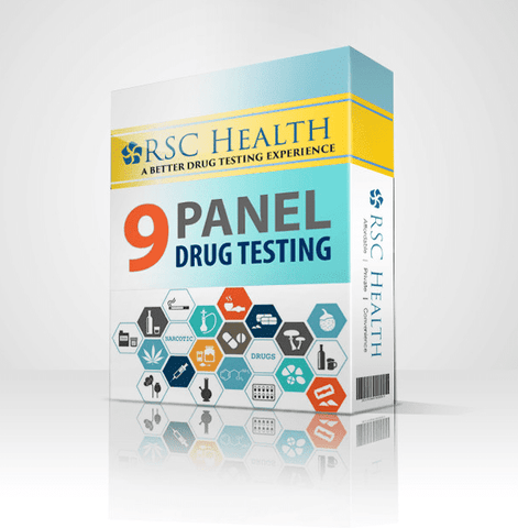 Rapid 9 Panel Drug Test