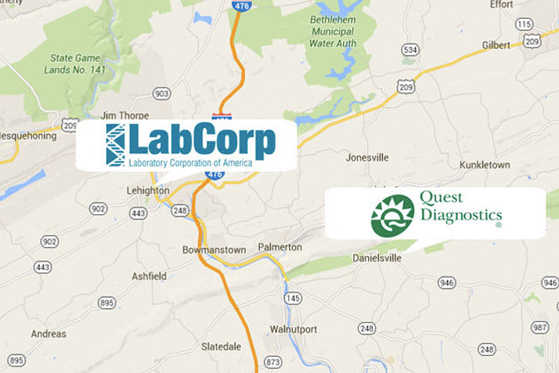 Accepted At Over 4000 Lab Locations Nationwide