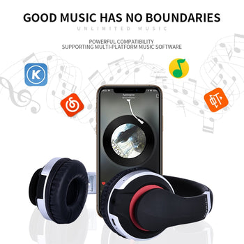 Gaming Headset | Gaming Headphone With Microphone | Foldable Stereo - GadgetSourceUSA