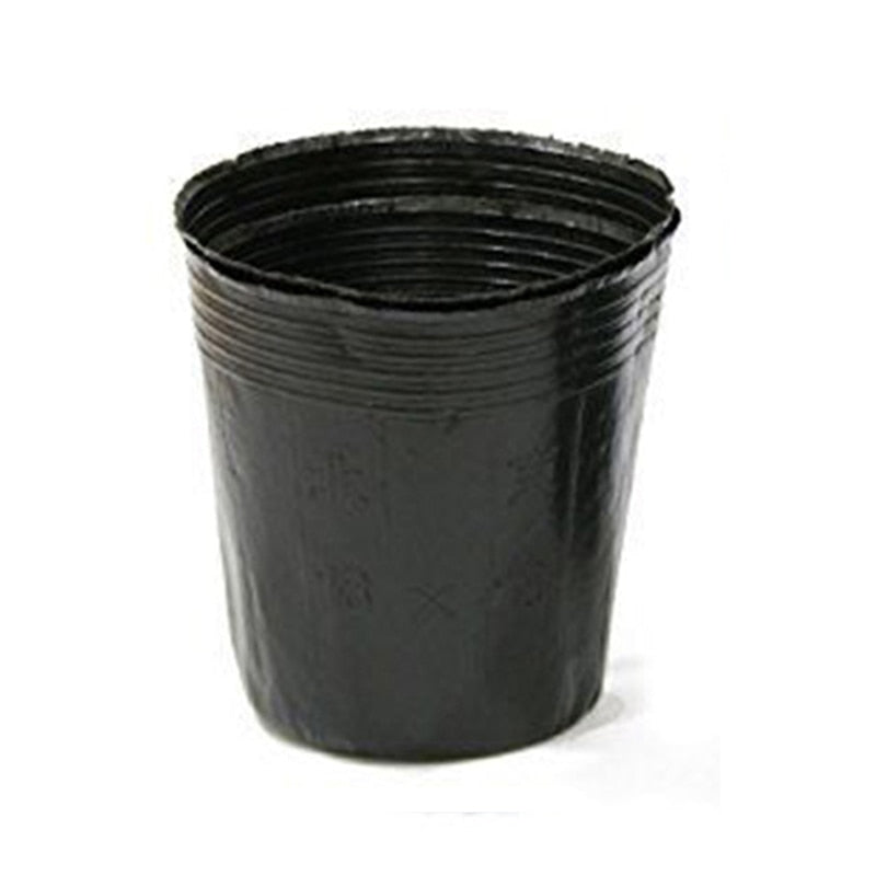 Plant Pots | 100 Pcs 4 Sizes Round | For Flowers, Seedlings, Sowing, Nurseries, Garden Growing | Home Garden Planter - GadgetSourceUSA