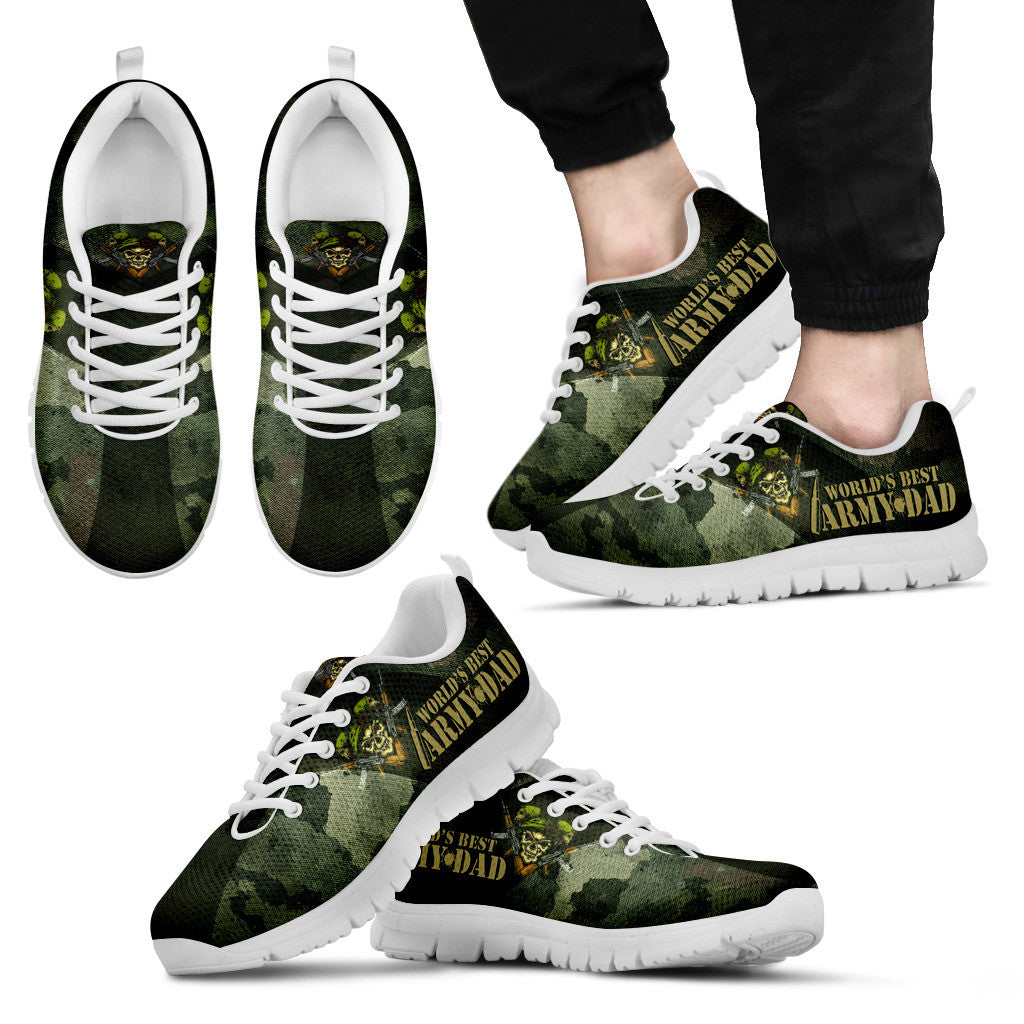 No.1 Army Dad Sneakers
