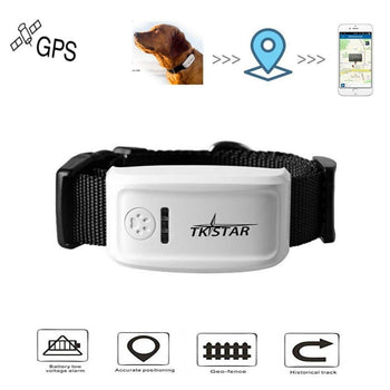 Pet GPS Tracker For Dog/Cat | Global Locator Real Time GPS Collar | Tracking #NE1205 - GadgetSourceUSA