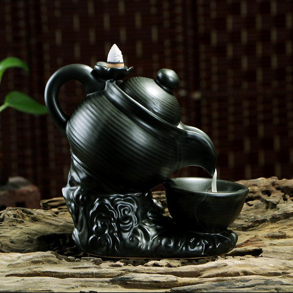 Incense Burner Tea Pot | supreme incense burner 2020 | incense burner review | incense burner for sticks - GadgetSourceUSA