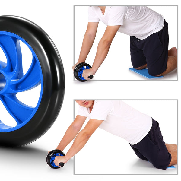 8 in 1 Fitness Set | Abdominal Wheel with Mat Resistance Band, Jump Rope For Arm, Waist, Leg Workout | Gym Fitness Equipment - GadgetSourceUSA