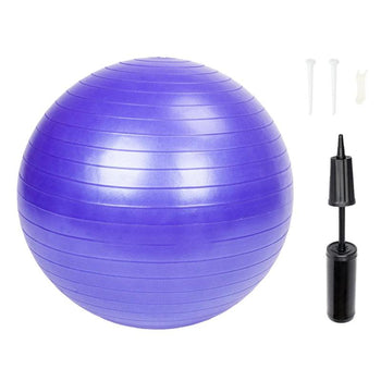 Exercise Ball | 85/75/65/55 cm | Sports, Yoga, Pilates, Fitness Gym, Balance | Workout Exercise Ball with Pump - GadgetSourceUSA