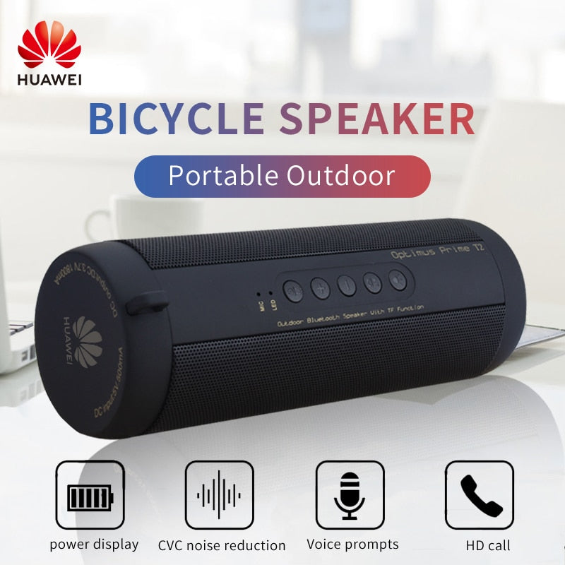 Waterproof Speakers Bluetooth | Huawei Waterproof Speakers | Waterproof Portable Outdoor Speakers - GadgetSourceUSA