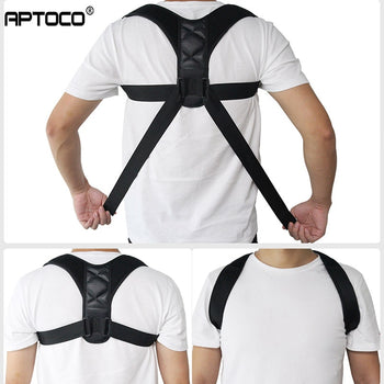 Back Brace | Posture Corrector | Back Support Brace |  Adjustable Clavicle, Spine, Back, Shoulder, Lumbar Brace | Braces & Supports -