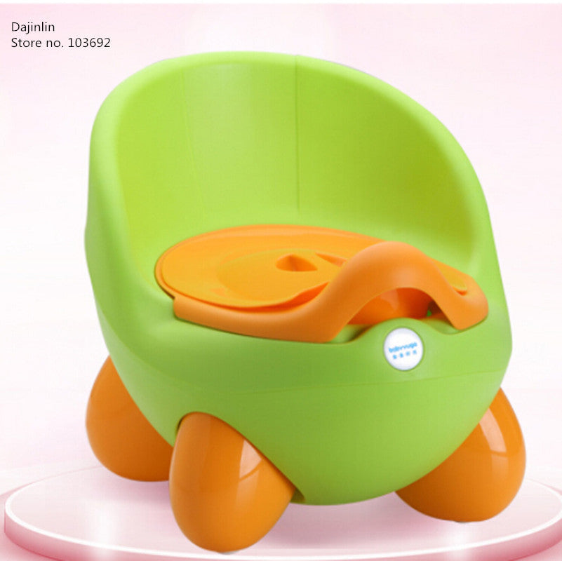 Babyyuga Baby Potty Training Toilet Plastic Non-slip Kids Toilet Seat Protable Travel Potty Chair Infant Children Pee Trainer