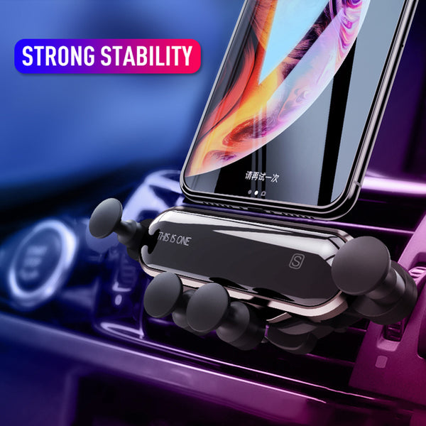Car Phone Holder |  This is One Car Air Vent Mount | Shockproof, Stable, Non-slip Mobile Phone Holders - GadgetSourceUSA