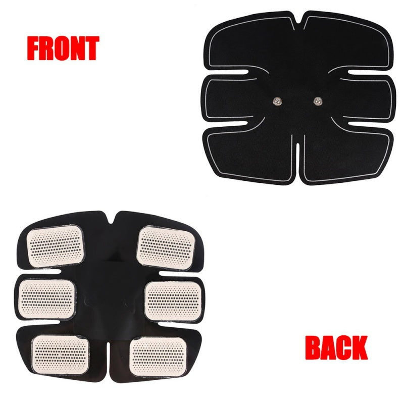 Abdominal EMS Trainer | Home Fitness | Abdomen Electromagnetic Muscle Stimulator | Firms, Tones, Strengthens and Tightens Muscles - GadgetSourceUSA