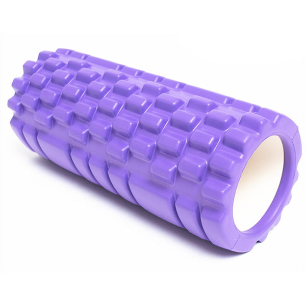 Yoga Massage Roller | 1 Pc Foam Roller | Home Fitness | Muscle Massage Roller For Yoga / Pilates - GadgetSourceUSA