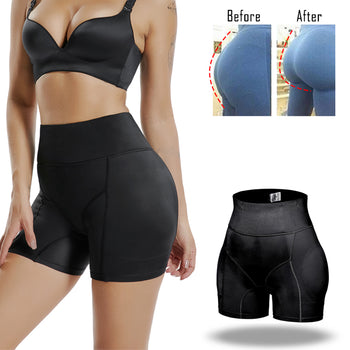 Miss Muscle Invisible Butt Lifter Booty Enhancer Padded Control Panties Body Shaper Padding Panty Push Up Shapewear Hip Modeling|Control Panties - GadgetSourceUSA