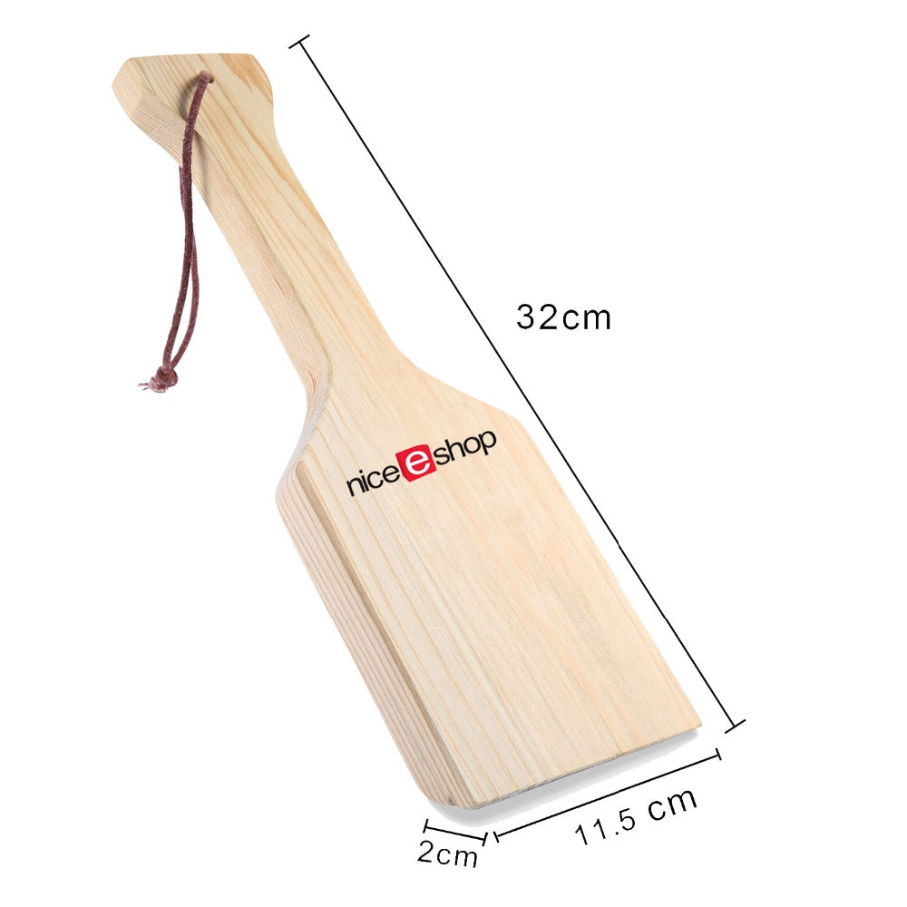 New Barbecu Tool Premium Cedar Scraper Natural Cedar Wood BBQ Grill Scraper Full Size Reusable BBQ Cleaning Tools Cooking