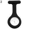 Cute Silicone Nurse Watch Brooch Fob Pocket Tunic Quartz Movement Watch