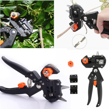Pruning Sheers - Professional Gardener's | Plant Cutting Tool | Grafting for Horticultural Fruit Trees #R15| Pruning Tools - GadgetSourceUSA