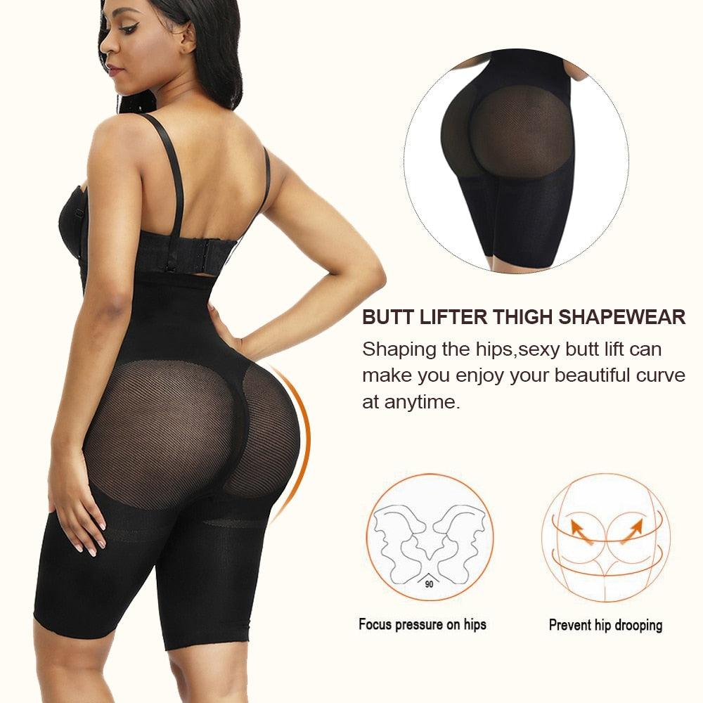 WAIST MAGIC Waist Booty Hip Enhancer Butt Lifter Invisible Body Shaper Panty Push Up Bottom Boyshorts Sexy Shapewear Briefs|Control Panties - GadgetSourceUSA