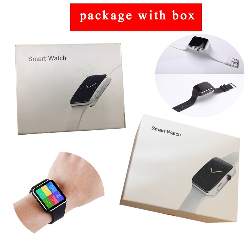 Smart Watch | X6 Smartwatch | X6 Bluetooth Smart Watch for Android - GadgetSourceUSA