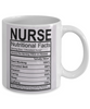 Nurse Nutritional Facts