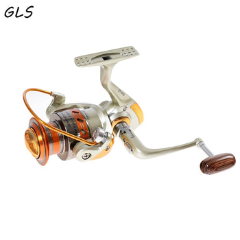 Fishing Reel Yumoshi | 12BB Ball Bearing | Saltwater/Freshwater Spool Spin Fishing Reel | Series 1000-9000 |  5.5:1 Carp Fishing Spinner - GadgetSourceUSA