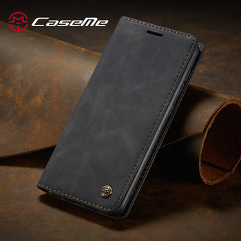for Samsung Galaxy S20 Ultra S20 Plus Leather Case,CaseMe Retro Purse Luxury Magneti Card Holder Wallet Cover For Galaxy S20 - GadgetSourceUSA