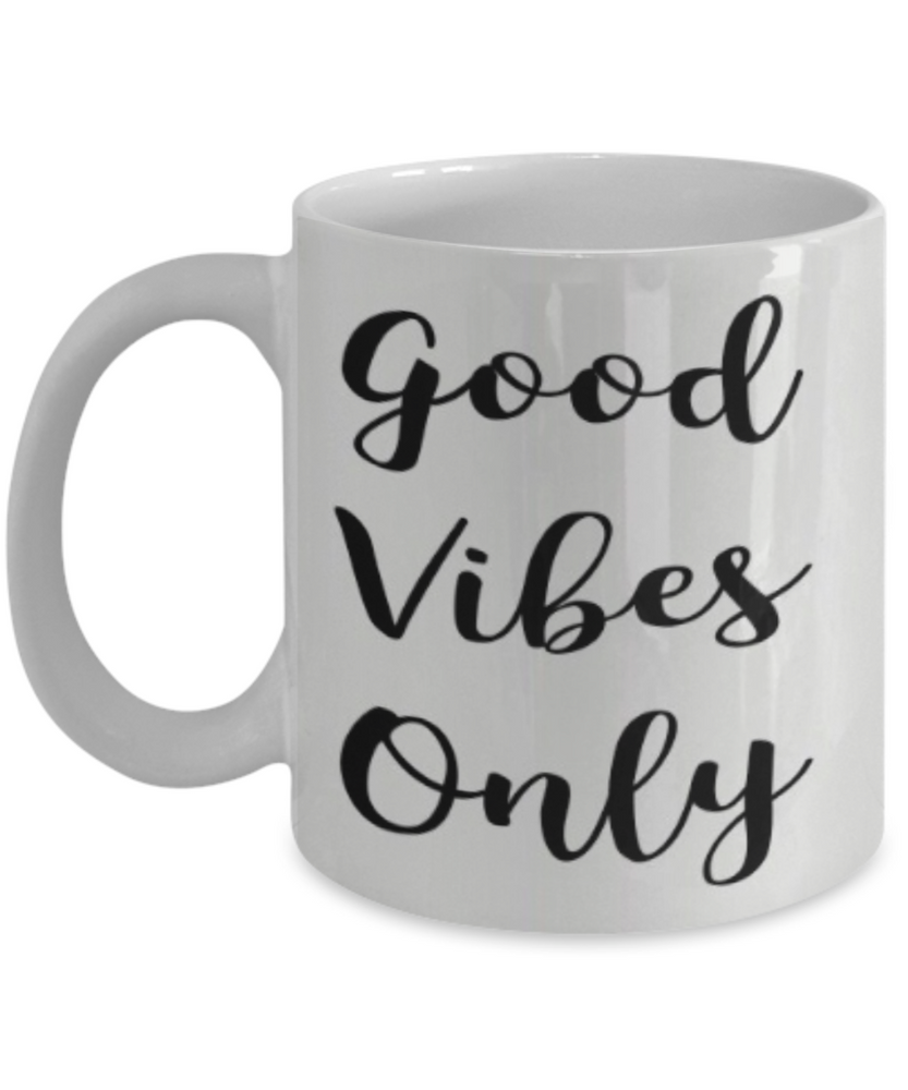 Good Vibes Only Mug - GadgetSourceUSA