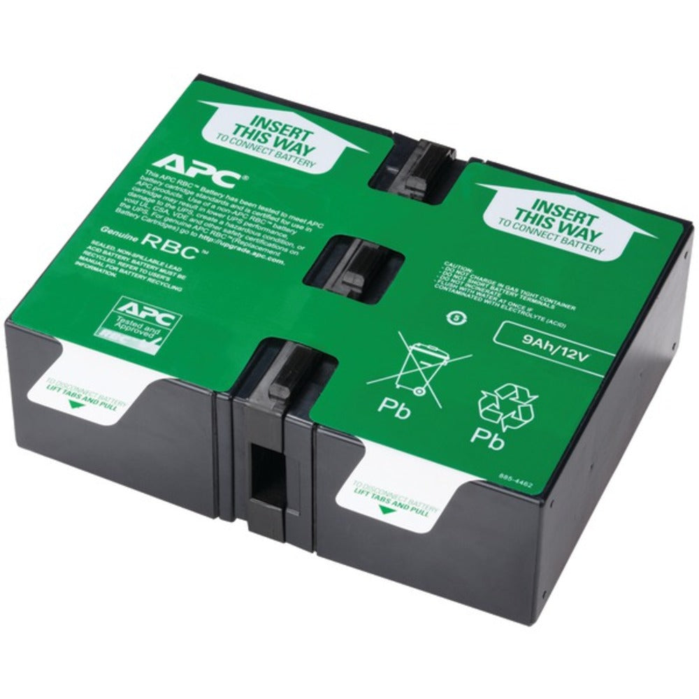 APC APCRBC124 Replacement Battery Cartridge #124 - GadgetSourceUSA
