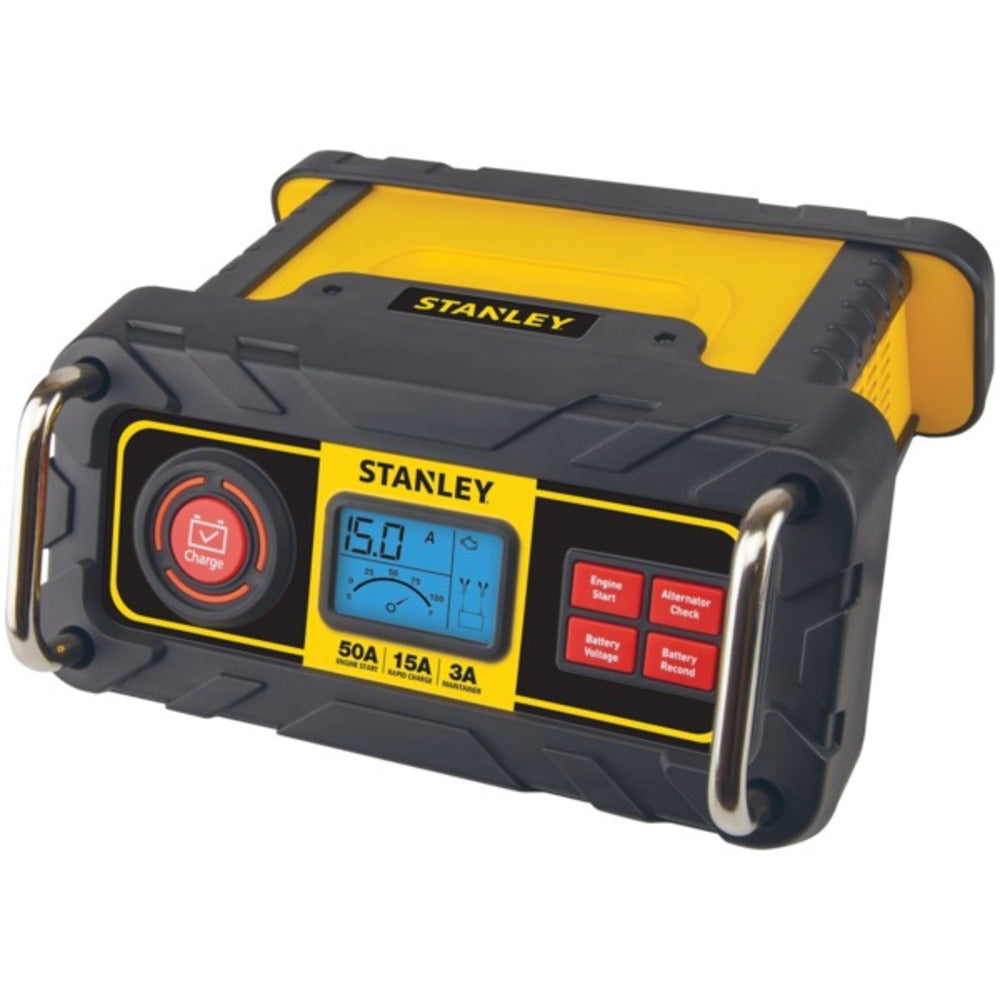 STANLEY BC50BS 15-Amp Automatic Battery Charger - GadgetSourceUSA