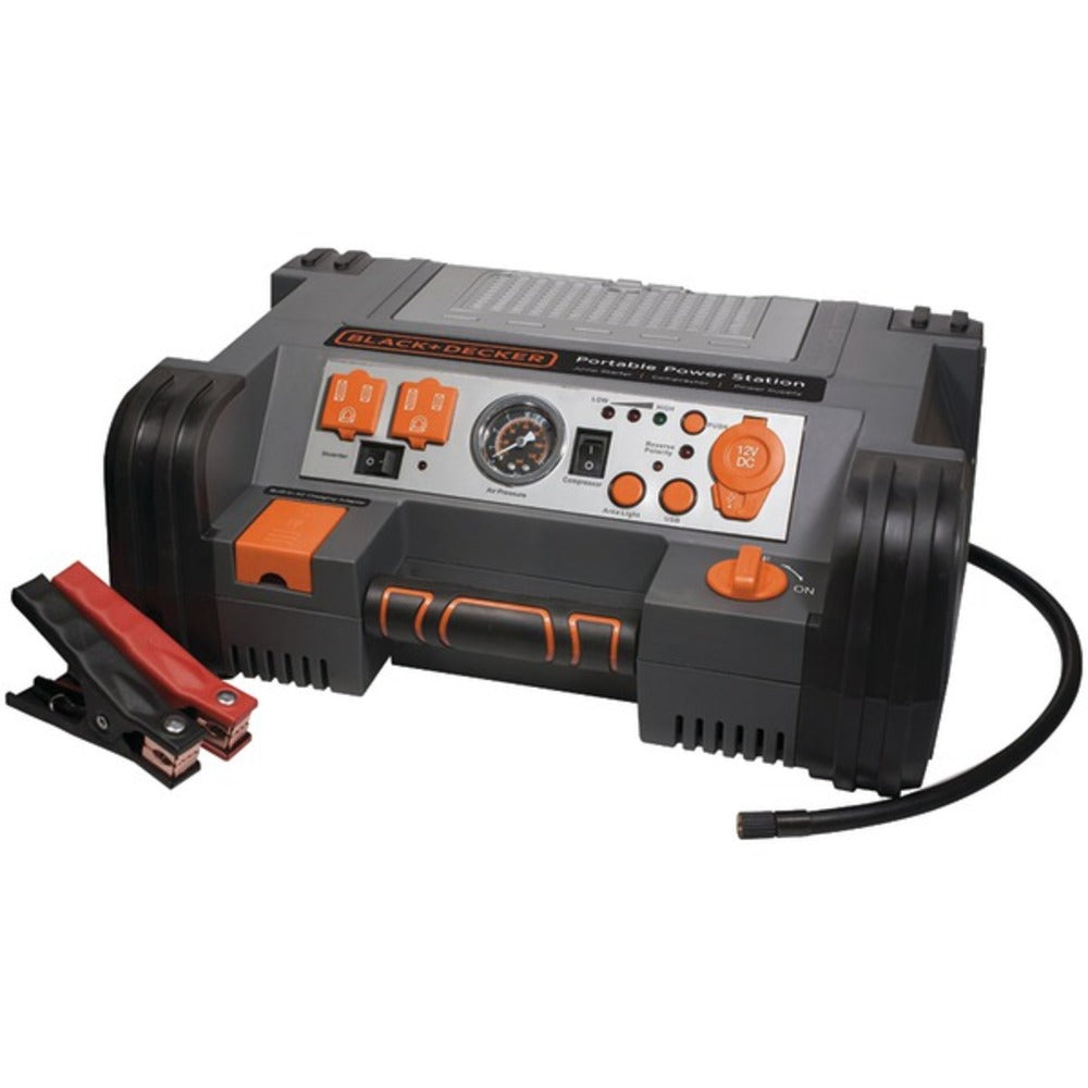 BLACK+DECKER PPRH5B Professional Portable Power Station with 120 PSI Air Compressor - GadgetSourceUSA