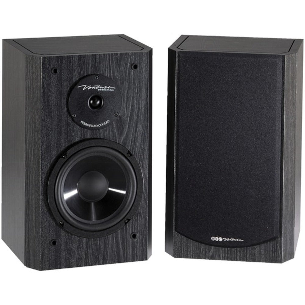 BIC America DV62SIB 175-Watt 2-Way 6.5-Inch Bookshelf and Surround Speakers - GadgetSourceUSA