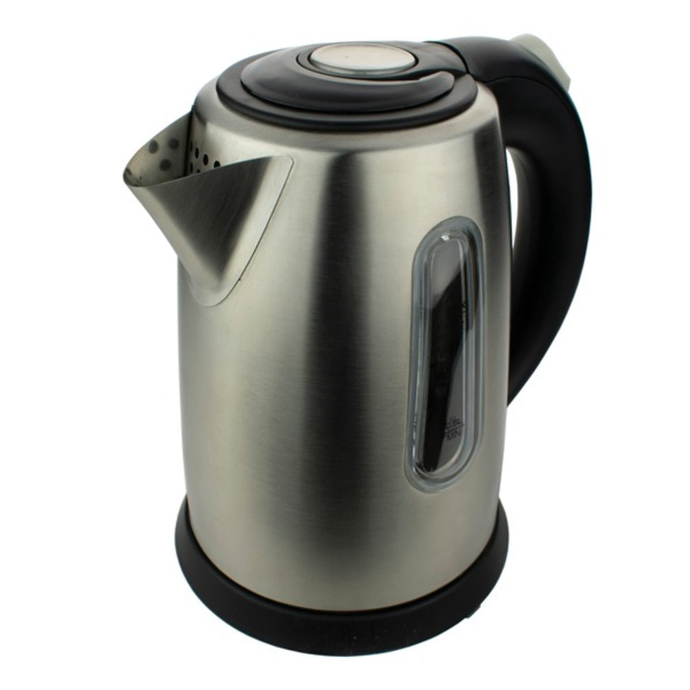Brentwood Appliances KT-1710S 1-Liter Stainless Steel Cordless Electric Kettle (Silver) - GadgetSourceUSA