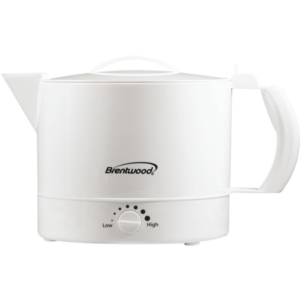 Brentwood Appliances KT-32W 32-Ounce Electric Kettle Hot Pot - GadgetSourceUSA