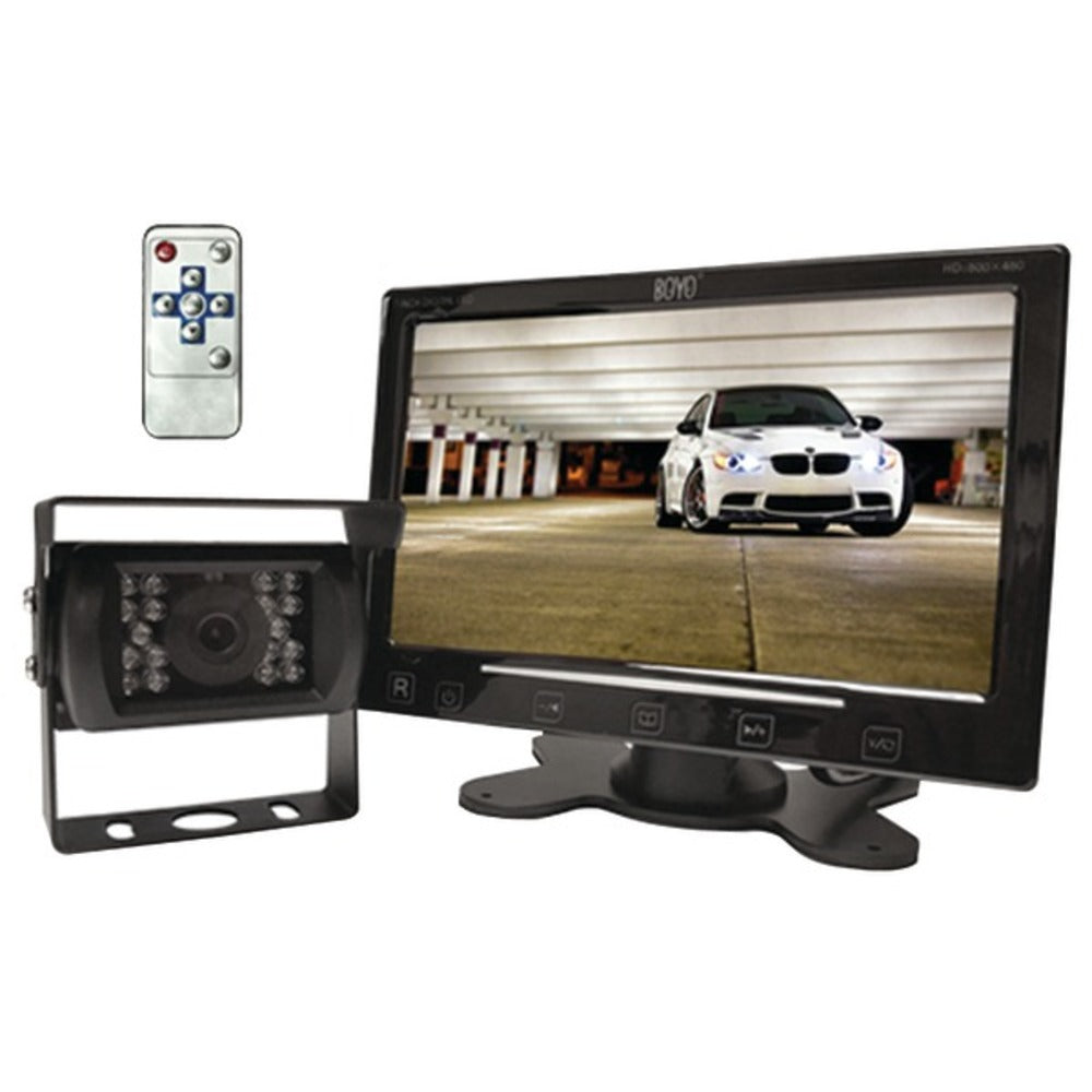 BOYO Vision VTC307M VTC307M Vehicle Backup System with 7-Inch Monitor and Heavy-Duty Backup Camera - GadgetSourceUSA