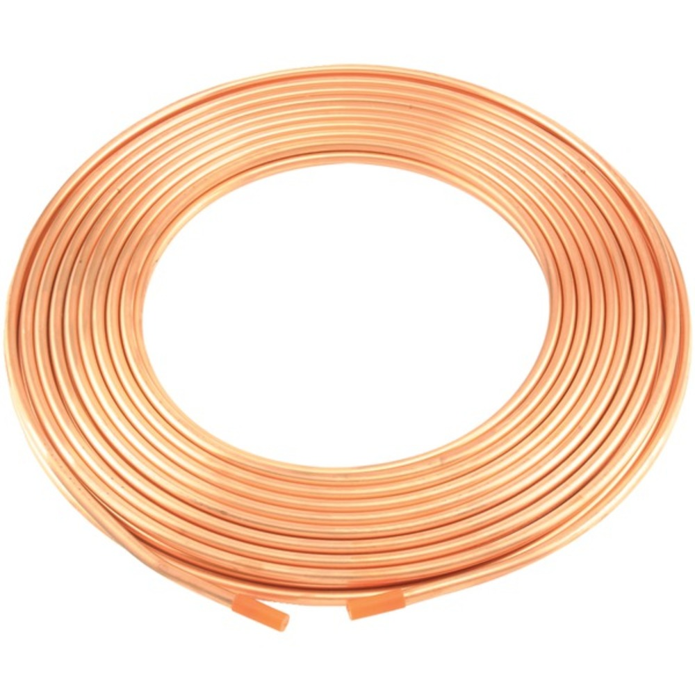 No Logo 6363204859800 Copper Refrigeration Tubing, 50-Foot Roll (1/4-Inch) - GadgetSourceUSA