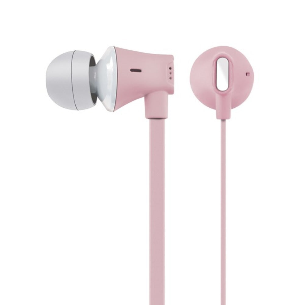 AT and T EBM03-PNK JIVE Noise Isolating Earbuds with In-line Microphone (Pink) - GadgetSourceUSA