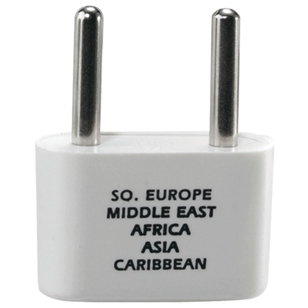 Travel Smart NW1X Adapter Plug for Europe, Middle East, Parts of Africa, Asia and Caribbean - GadgetSourceUSA