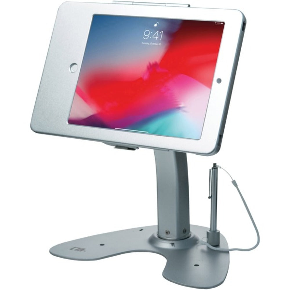 CTA Digital PAD-ASK Antitheft Security Kiosk Stand with Locking Case and Cable for iPad Gen. 5 (2017), iPad Gen. 6 (2018), iPad Air, and iPad Pro 9.7 - GadgetSourceUSA