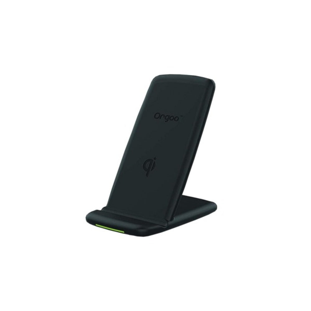 Orgoo OW1/BLK Fast Wireless Qi-Certified Charger Stand - GadgetSourceUSA