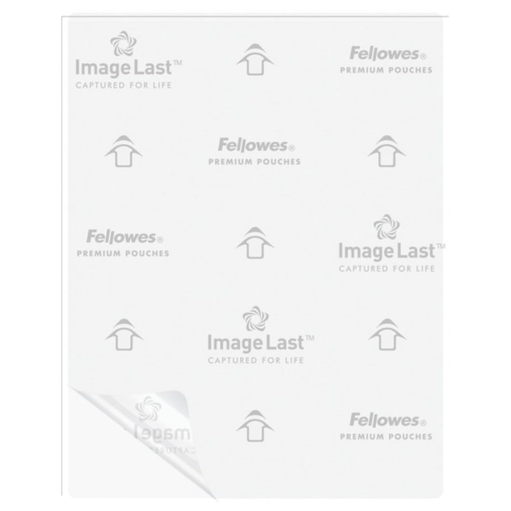 Fellowes 52454 Letter Laminating Pouches, 100 pk (3mil) - GadgetSourceUSA