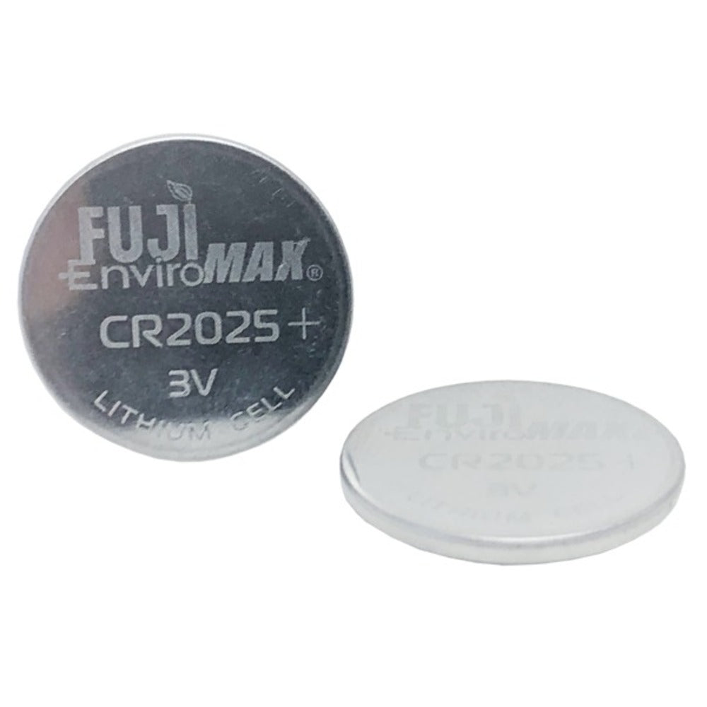 FUJI ENVIROMAX 229 CR2025 Lithium Coin Cell Battery 2 Pack - GadgetSourceUSA