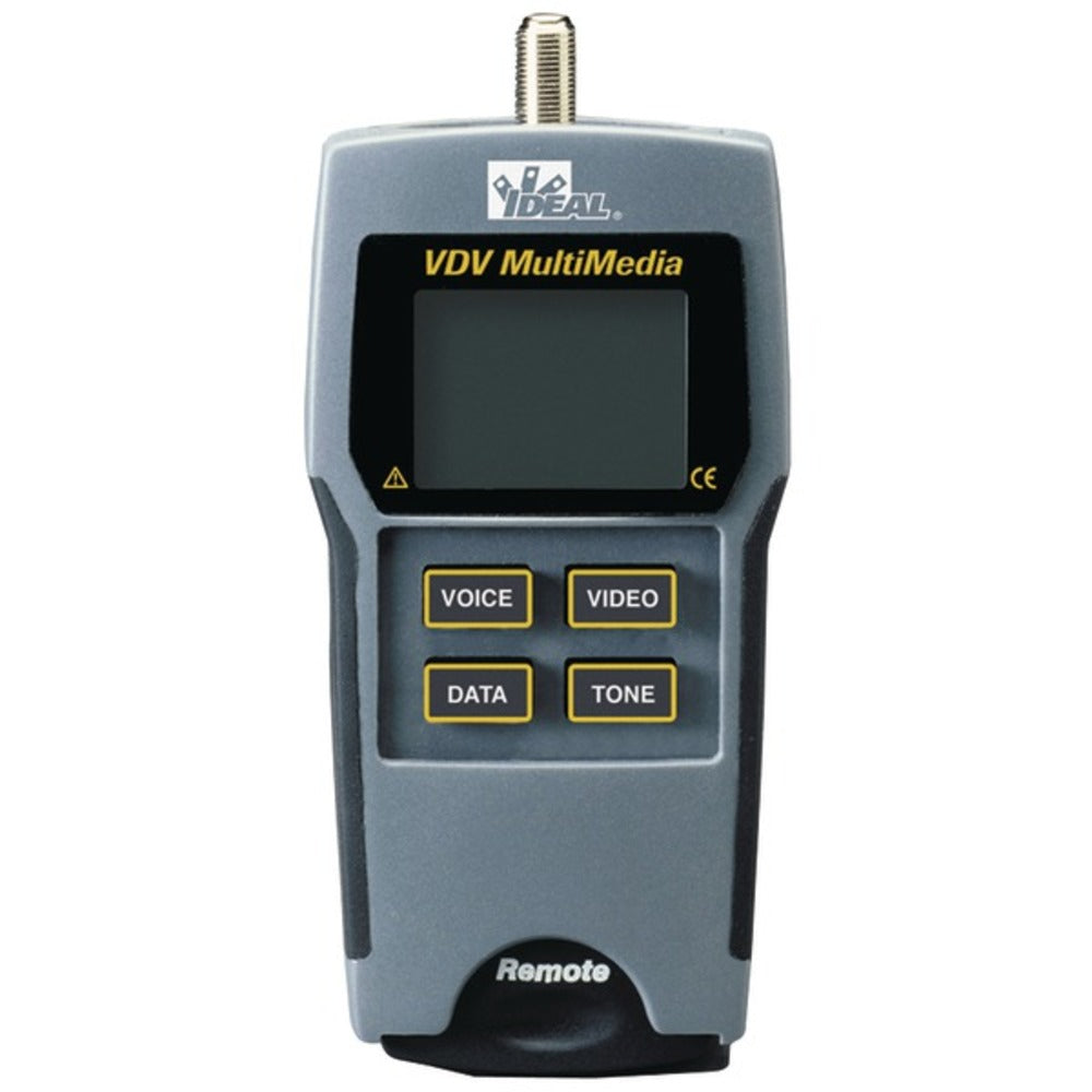 IDEAL 33-856 VDV Multimedia Wiremapper and Cable Tester - GadgetSourceUSA